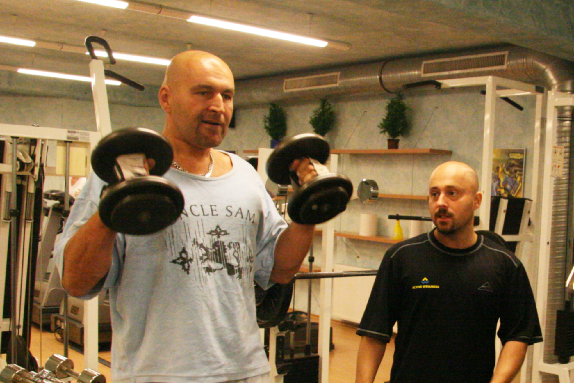 Fanánek - klient osobního trenéra Vladimíra Hirky